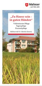 Malteserstift St Monika - Faltblatt (PDF Download)