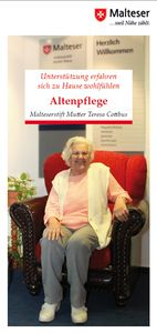 Flyer-Altenpflege-Malteserstift Mutter Teresa Cottbus